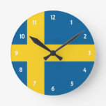 Suecia Reloj Redondo Mediano