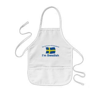 Suecia Smorgasbord 1 Delantal Infantil