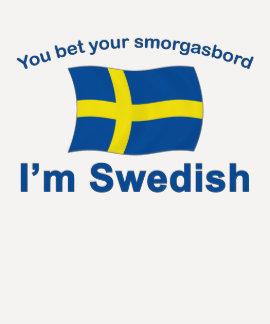 Suecia Smorgasbord 1 Camisetas
