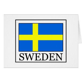Suecia Tarjeta De Felicitación