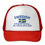 Sueco apuesto… gorro de camionero