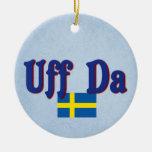 Sueco de Uff DA Suecia Ornamento De Reyes Magos