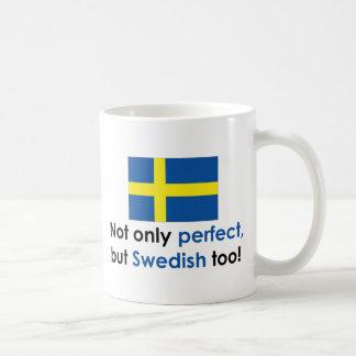 Sueco perfecto taza de café