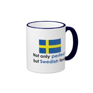 Sueco perfecto tazas de café