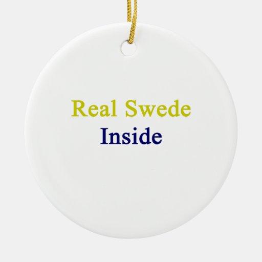 Sueco real dentro adorno