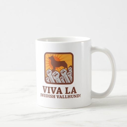 Sueco Vallhund Taza De Café