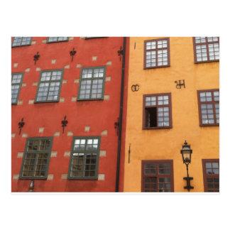 Sueco Windows Tarjetas Postales