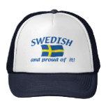 Sueco y orgulloso gorras