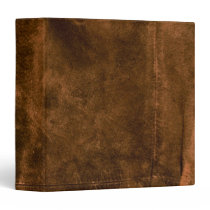 Suede Seam Look of Leather Binder