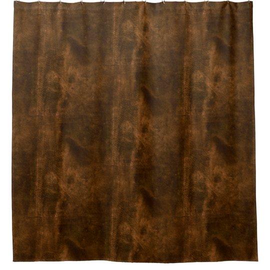 Curtains Ideas black leather shower curtain : Suede Seam Look of Leather Shower Curtain   Zazzle