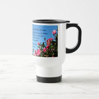 Suegra especial taza de viaje