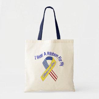 Suegra - llevo un patriótico militar de la cinta bolsa de mano