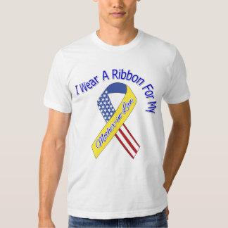 Suegra - llevo un patriótico militar de la cinta camisas