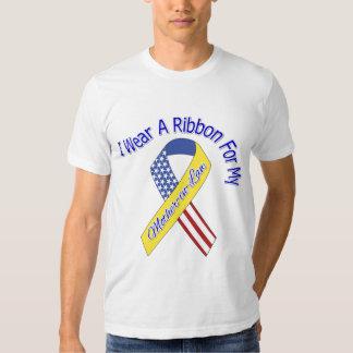 Suegra - llevo un patriótico militar de la cinta remeras