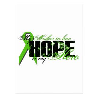 Suegra mi héroe - esperanza del linfoma tarjetas postales