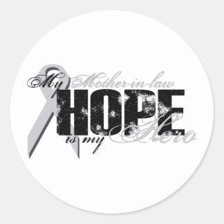 Suegra mi héroe - esperanza del pulmón etiquetas