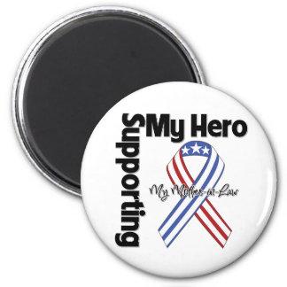Suegra - militar que apoya a mi héroe iman de frigorífico