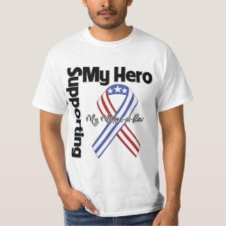 Suegra - militar que apoya a mi héroe remera