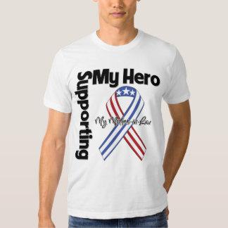 Suegra - militar que apoya a mi héroe remeras