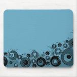 Suelo marino azul tapete de ratones