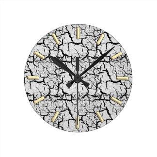 Suelo seco por el rafi talby reloj redondo mediano