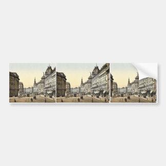 Suene la calle, rar de Budapest, Hungría, Austro-H Etiqueta De Parachoque