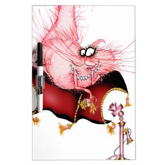 Suene mi Bell - dibujo animado divertido del gato, Pizarras Blancas De Calidad