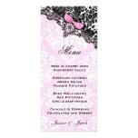 Sueño 311 en rosa del leopardo y del cordón diseño de tarjeta publicitaria