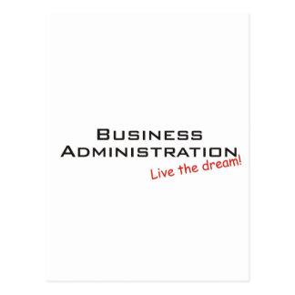 Sueño/administración de empresas postal