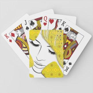 Sueño amarillo baraja de cartas