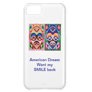 Sueño americano - quiera mi SONRISA detrás Funda iPhone 5C