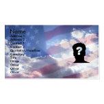 Sueño americano tarjetas personales