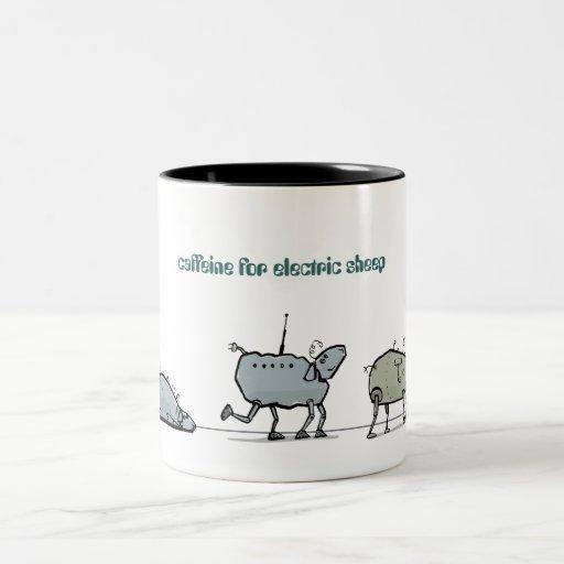 sueño androide - personalizable taza de café