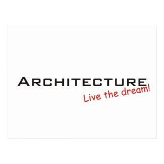 Sueño/arquitectura Tarjetas Postales