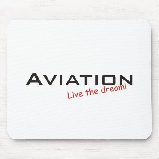 Sueño/aviación Tapete De Ratón