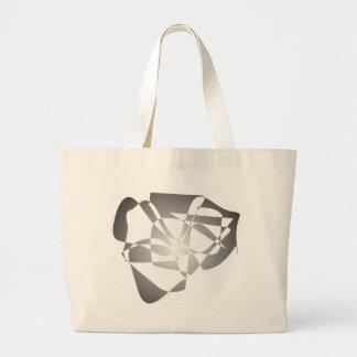 Sueño blanco y negro bolsa de mano