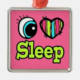 Sueño brillante del amor del corazón I del ojo Adorno Para Reyes