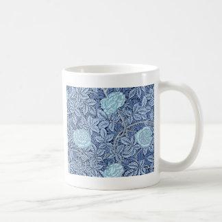 Sueño color de rosa azul taza de café
