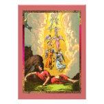 Sueño colorido de los ángeles de Jacob