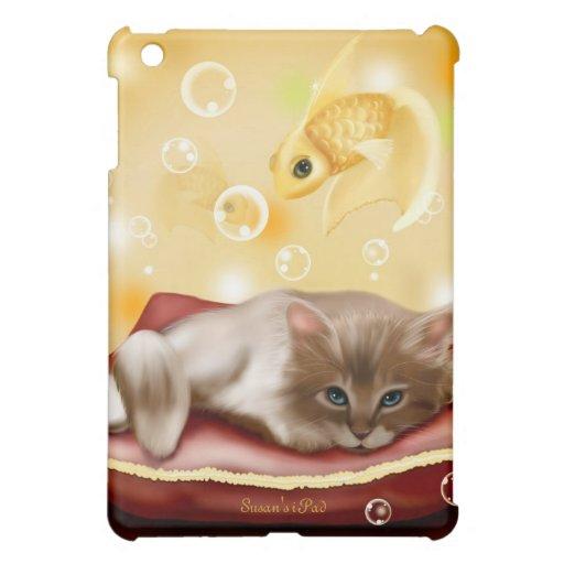 Sueño con caso del iPad de los pescados el mini