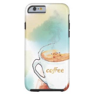 Sueño con el caso del iPhone 6 del café Funda Resistente iPhone 6
