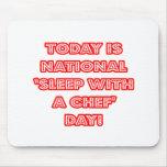 """""""Sueño con el día nacional de un cocinero"""" Alfombrillas De Ratones"""