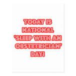 """""""Sueño con el día nacional de un obstétrico"""" Postales"""