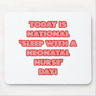 Sueño con el día nacional de una enfermera neonat alfombrillas de raton