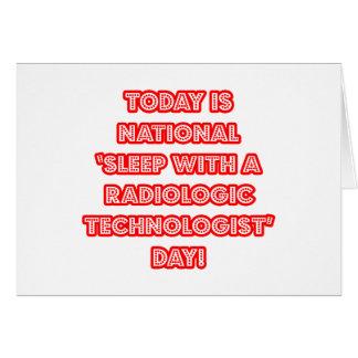 Sueño con el día nacional de una tecnología radio felicitacion