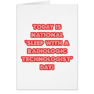 Sueño con el día nacional de una tecnología radio felicitación