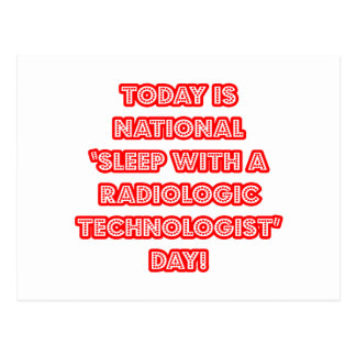 Sueño con el día nacional de una tecnología radio tarjetas postales