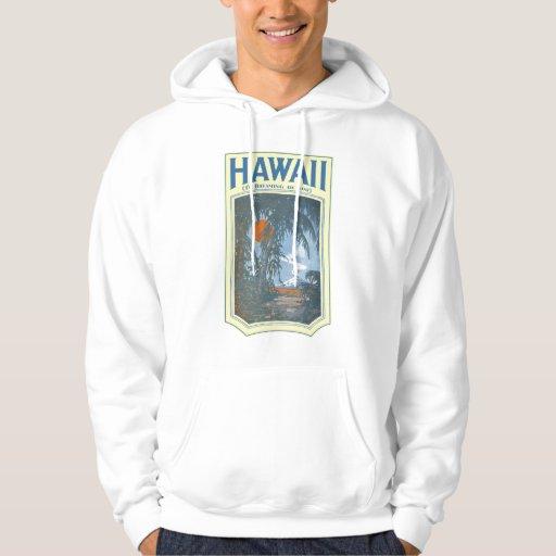 Sueño con Hawaii Hoddie ligero Sudadera