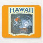 Sueño con Hawaii Mousepad Alfombrillas De Ratones