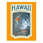 Sueño con la postal de Hawaii